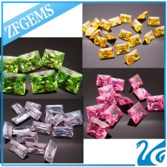 Zircon (jacinth, yellow and green zircon)