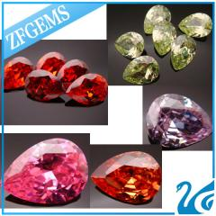 Zircon (jacinth, yellow and green zircon)