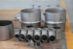 Metal articles made of titanium carbide and