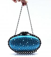 Fashion new design silk clutch bag