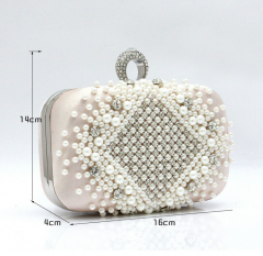 Fashion style direct purses china jewelled crystal beaded evening bags