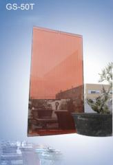 Transparent thin-film solar modules