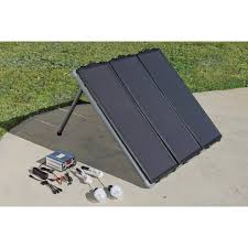 GS-M030B Glass Solar Charger & Light Kit