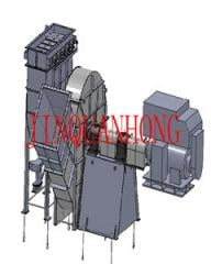 Cooling fan for annular cooler