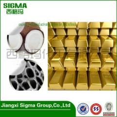 Coconut shell based activated carbon for gold Mining