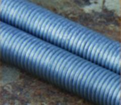 H.d.g carbon steel unc,din threaded rod