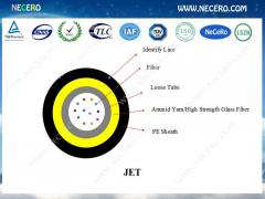 Optical fiber cable JET