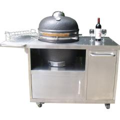 Luxurious Kamado BBQ Grills with tainless table HTL-21L1