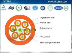 Multi Purpose Break-out optic fiber Cable