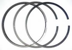 Piston rings for the engines of automobiles