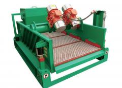 Mining processing equipment shaker with adjustable