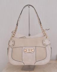 Beige colour lady bag