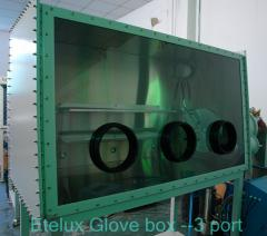 Automatic control glove box inert gas system