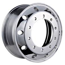 Semi trailer aluminum alloy wheel