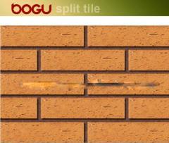 Exterior clinker tile facade tile