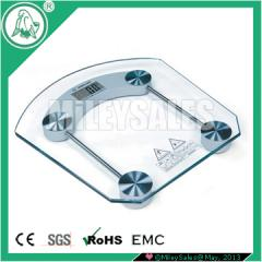 Floor scales for the measurement of body weight