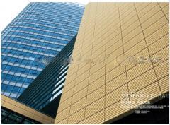 Decorative terracotta decorative wall covering panels