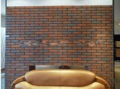 Color gradul transition exterior wall tile