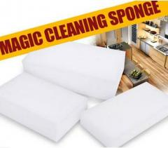 White Handy Size Melamine Magic Sponge Eraser