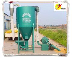 Automatic Chicken Feed Crusher and Mixer 1t/h