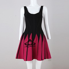 """Lady dress """"Pink and Black"""""""