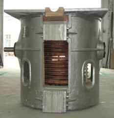 Induction Meltling Furnace for Aluminum Steel