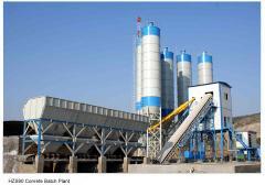 HZS90 Stationary Concrete Mixing Plant