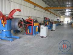 Profile bending equipment
