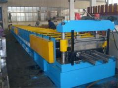 Deck floor machine