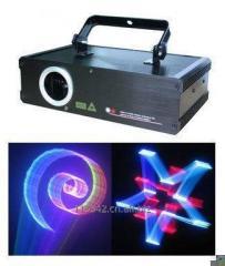 Лазерное шоу, 3D мультипликационный свет лазера