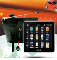 7.0 inch TFT screen, with car dvr function