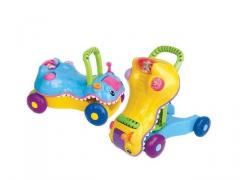 Switchable toys crocodile prince baby walker 2 in