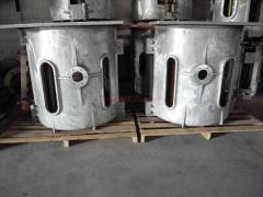 Demir/alüminyum/çelik/pirinç/bakır Ergitme Fırını