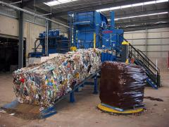 Waste bale wrap