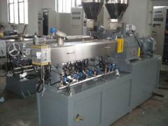 双螺杆塑料pvc造粒生产线