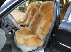 Genuine Sheepskin Car Seat Cushion