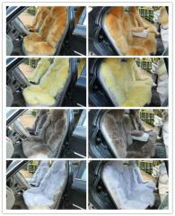 Colored Sheepskin Car Seat Covers