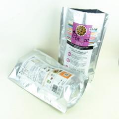 Doypack pure foil pet dog food bag with...