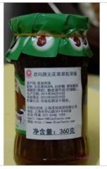 保加利亚瓶装进口360克无花果果粒酱