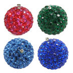 Clay Rhinestone Pendants