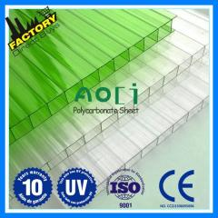 Polycarbonate for greenhouses