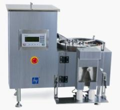 Machinery for filling of hard gelatin capsules