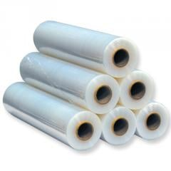 Packaging film, stretch-type