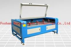 Fabric and leather laser cutting engraving machine