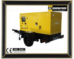 Cummins Trailer Generator