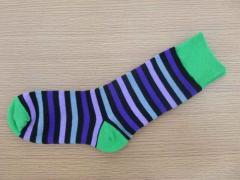 Man combed cotton sock