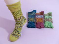 Calcetines de jacquard