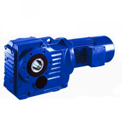 Helical-bevel gear reducer K series