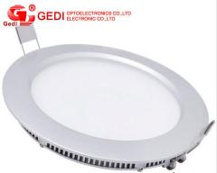 6W 420lm Round LED Panel Light for Ceiling