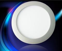 7W Round Dia180mm warm white LED Panel Light with